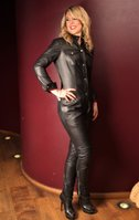 LEATHER JUMPSUIS & CATSUITS