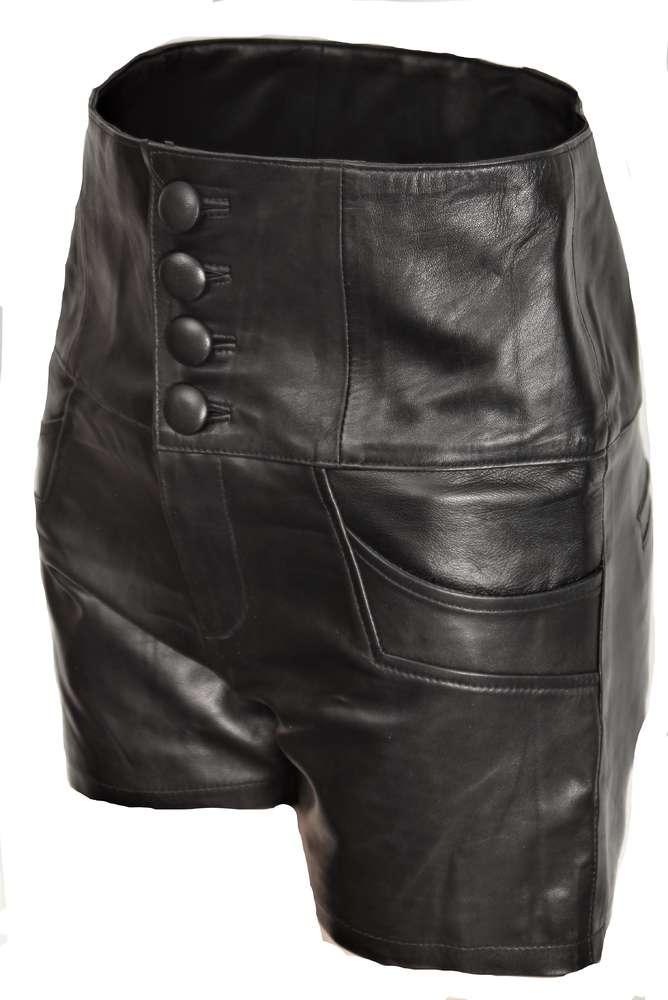 aspetto dettagliato ed76a 62861 Pantaloncini pelle in vero - pantaloni caldi in pelle - BE NOBLE