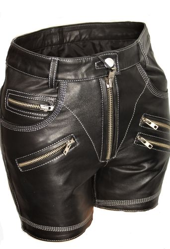 Leder-Short ECHTLEDER sexy Hot Pants