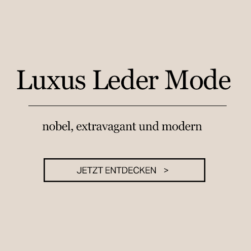 Luxus Leder Mode